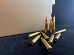 5.56 x 45mm NATO 55gr FMJBT, Reman Once fired Brass, Bulk Pack 500 rounds-FREE AMMO CAN!!! (Tan)