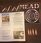 MEAD .338 Cal. Sample Pack, 100 rounds per box